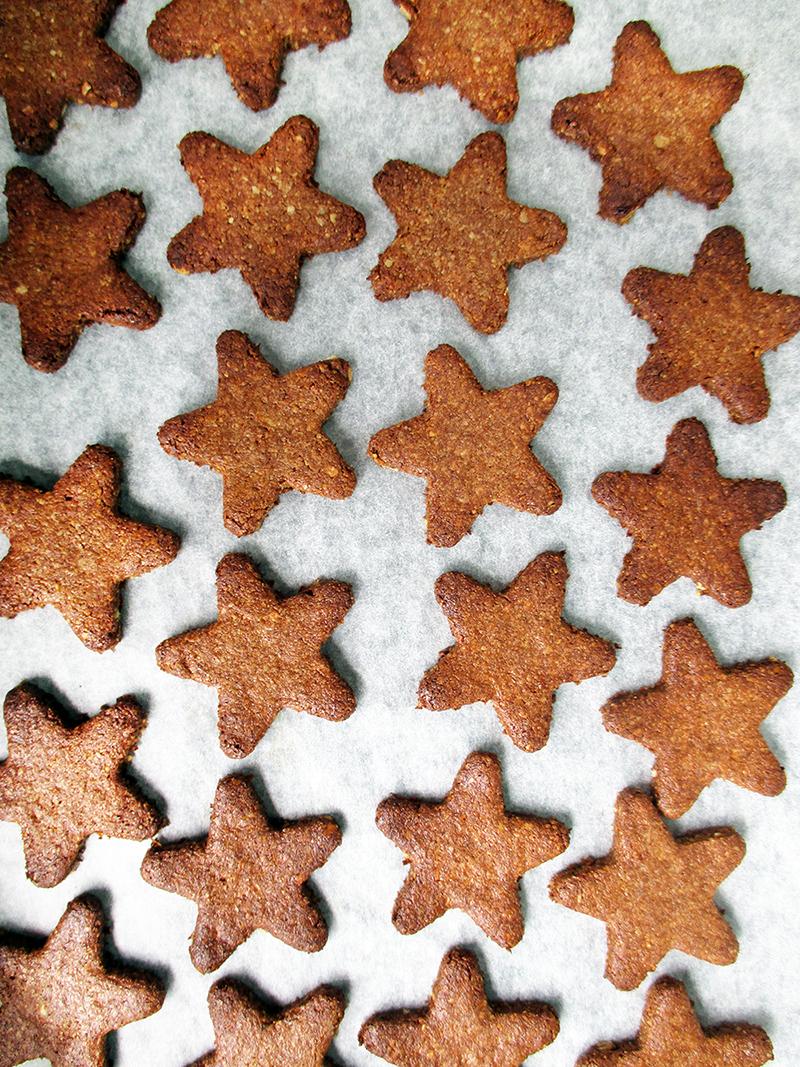 Vegan Gluten free No Refined Sugar Egg free Christmas Cinnamon Cookies Recipe 1