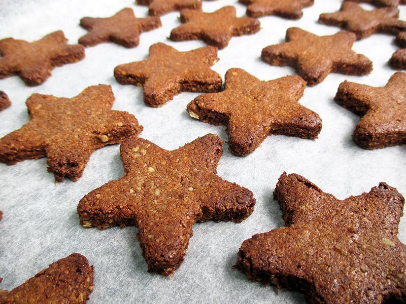 Vegan Gluten free No Refined Sugar Egg free Christmas Cinnamon Cookies Recipe 2