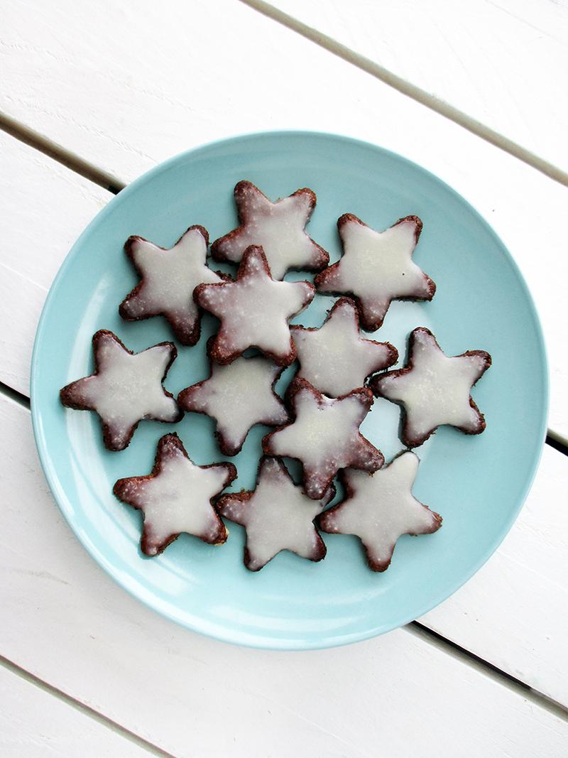 Vegan Gluten free No Refined Sugar Egg free Christmas Cinnamon Cookies Recipe 3