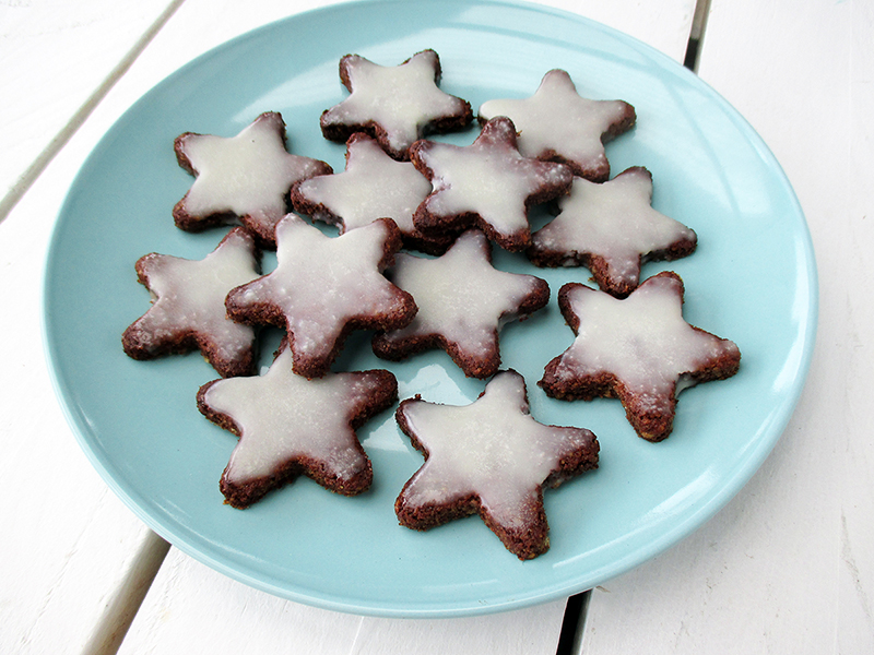 Vegan Gluten free No Refined Sugar Egg free Christmas Cinnamon Cookies Recipe 4