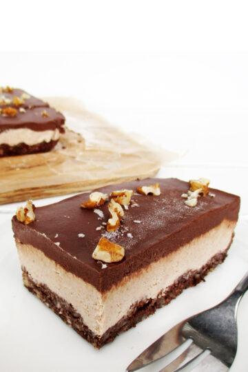 Nix Backen Vegane Glutenfreie Rohkost Walnuss Schokolade Schnitten Ohne Zucker Ohne Cashews Rezept 3 1
