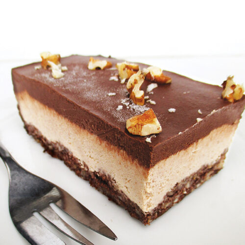 Nix Backen Vegane Glutenfreie Rohkost Walnuss Schokolade Schnitten Ohne Zucker Ohne Cashews Rezept 4 1