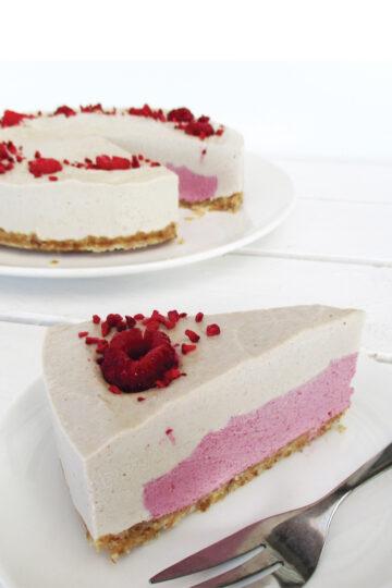 Nix Backen Vegane Glutenfreie Vanille Himbeer Torte Ohne Milch Rezept 4 1