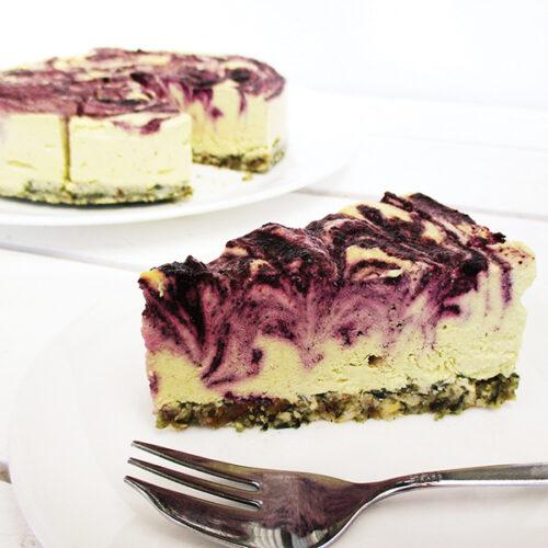 Nix Backen Vegane Glutenfreie Zitronen Blaubeer Torte Ohne Zucker Ohne Nuesse Rezept 2 1