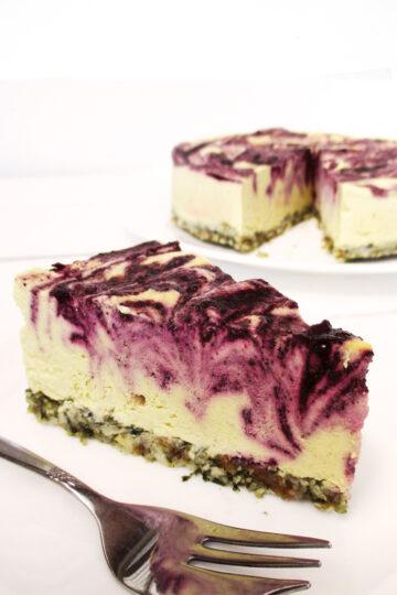 Nix Backen Vegane Glutenfreie Zitronen Blaubeer Torte Ohne Zucker Ohne Nuesse Rezept 4 1
