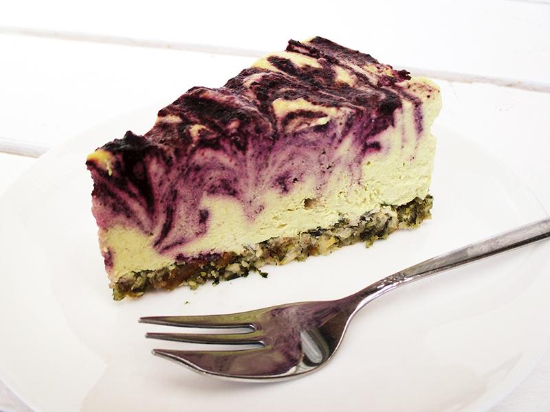 Vegan & Gluten-Free Lemon Blueberry Cake