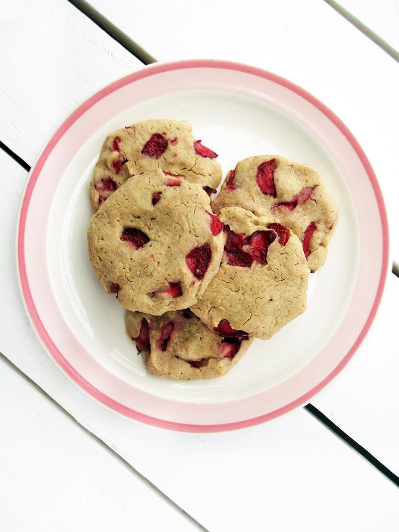 Vegan Gluten free Strawberry Vanilla Cashew Recipe Rezept 1