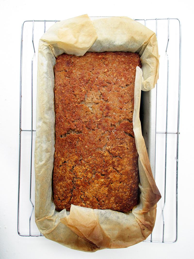 Vegan Gluten free Yeast free Bread Recipe 1