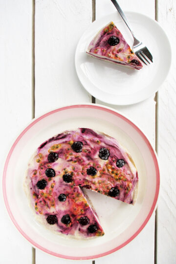 Nix Backen Veganer Glutenfreier Beeren Maracuja Eiscreme Torte Ohne Kristallzucker Rezept 4 1