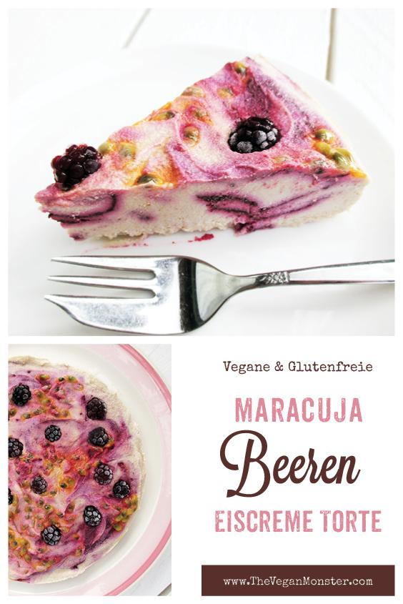 Nix Backen Veganer Glutenfreier Beeren Maracuja Eiscreme Torte Ohne Kristallzucker Rezept P1