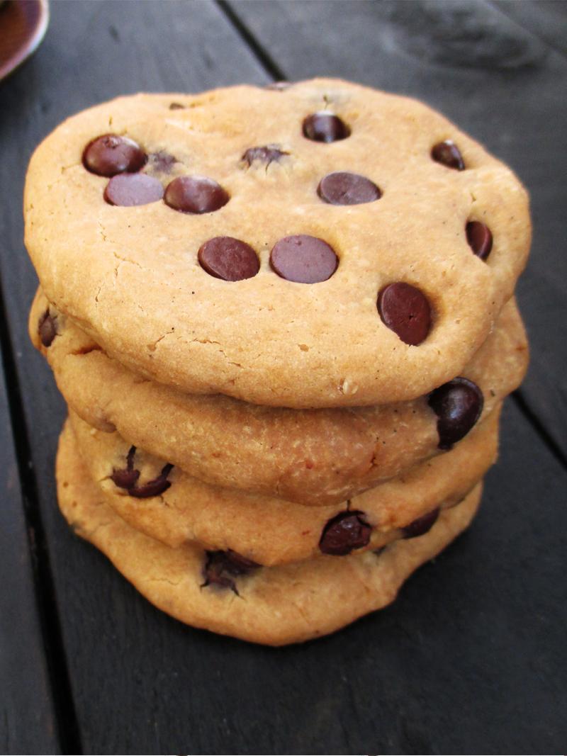 Vegan Gluten free Refined Sugar Free Chocolate Chip Cookies Recipe 6