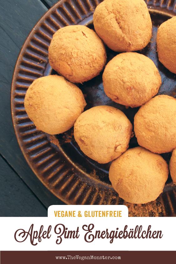 Vegane Glutenfreie Super Einfache Apfel Zimt Energiebaellchen Ohne Zucker Rezept P2