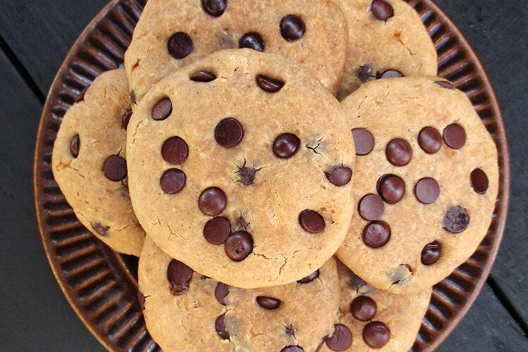 Vegane Glutenfreie Vanille Schokoladen Cookies Kekse Rezept 1 1