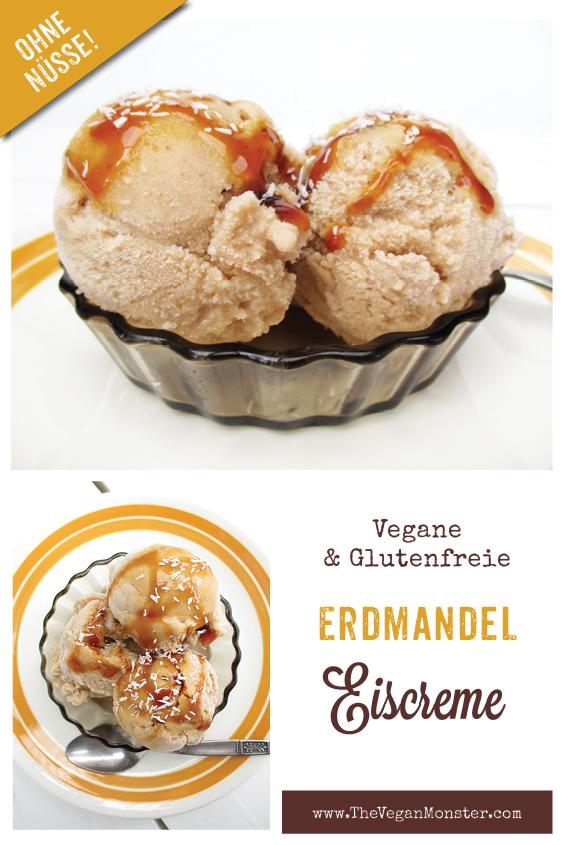 Vegane Glutenfreie Erdmandel Eiscreme Ohne Nuesse Ohne Kristallzucker Ohne Milch Rezept P1