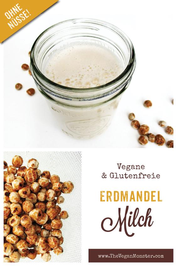 Vegane Glutenfreie Erdmandel Milch Ohne Nuesse Rezept P1