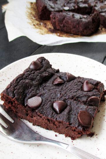 Vegane Glutenfreie Erdmandel Brownie Schnitten Ohne Nuesse Rezept 2 1