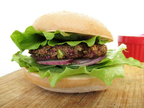 Vegan Gluten free Broccoli Bean Burger Pattie Recipe 0