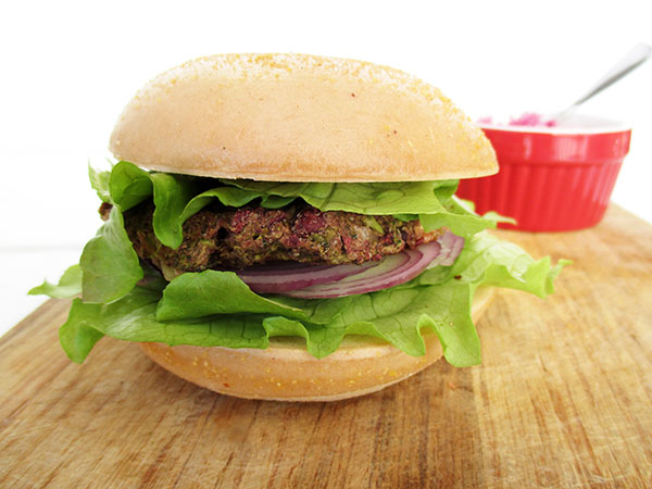 Vegan Gluten free Broccoli Bean Burger Pattie Recipe 3