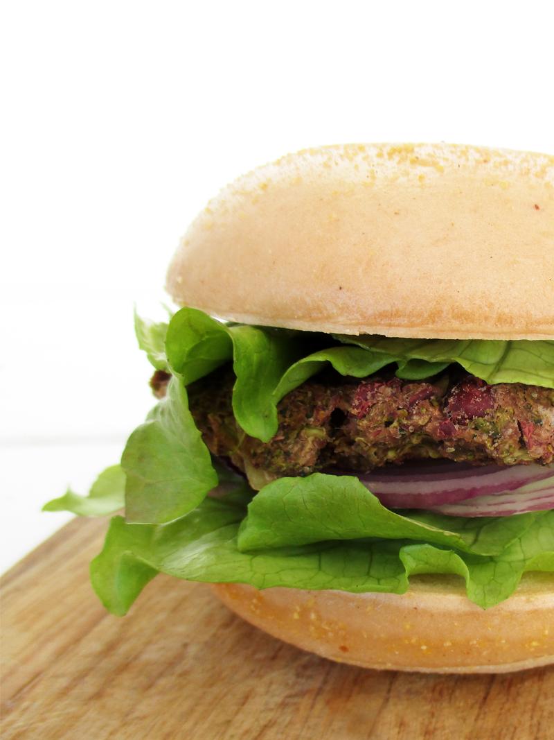Vegan Gluten free Broccoli Bean Burger Pattie Recipe 4