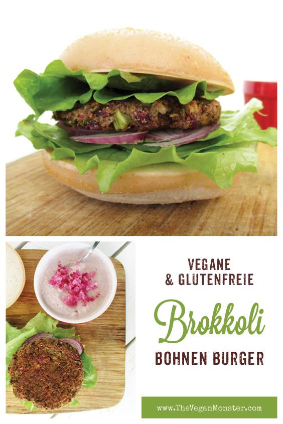 Vegane Glutenfreie Brokkoli Bohnen Burger Bratlinge Ohne Oel Rezept P2