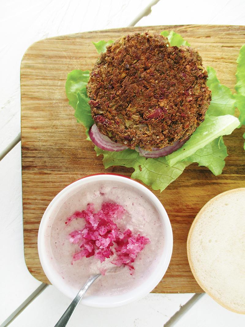 Veganer Glutenfreier Rohkoestlicher Radieschen Dip Sosse Sauce Rezept 04