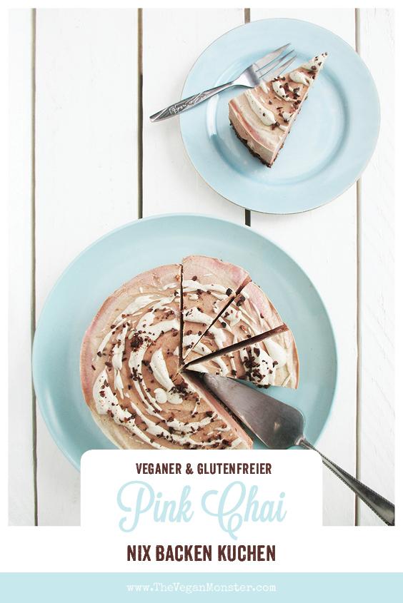 Nix Backen Vegane Glutenfreie Pink Chai Torte Ohne Kristallzucker Rezept P1