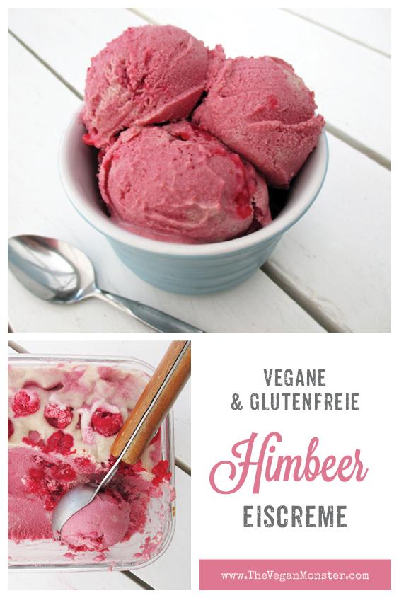 Vegane Glutenfreie Himbeer Eis Creme Ohne Milch Ohne Zucker Rezept P2