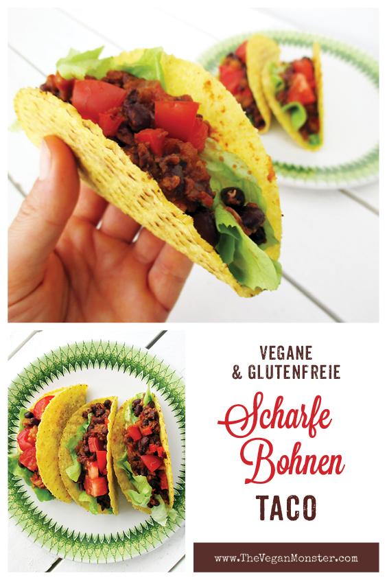 Vegane Glutenfreie Scharfe Bohnen Taco Rezept P2