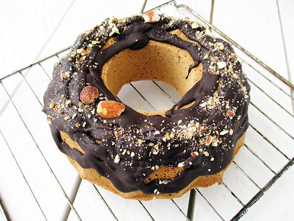 Vegan Gluten free Refined Sugar Free Polenta Bundt Cake Recipe 1