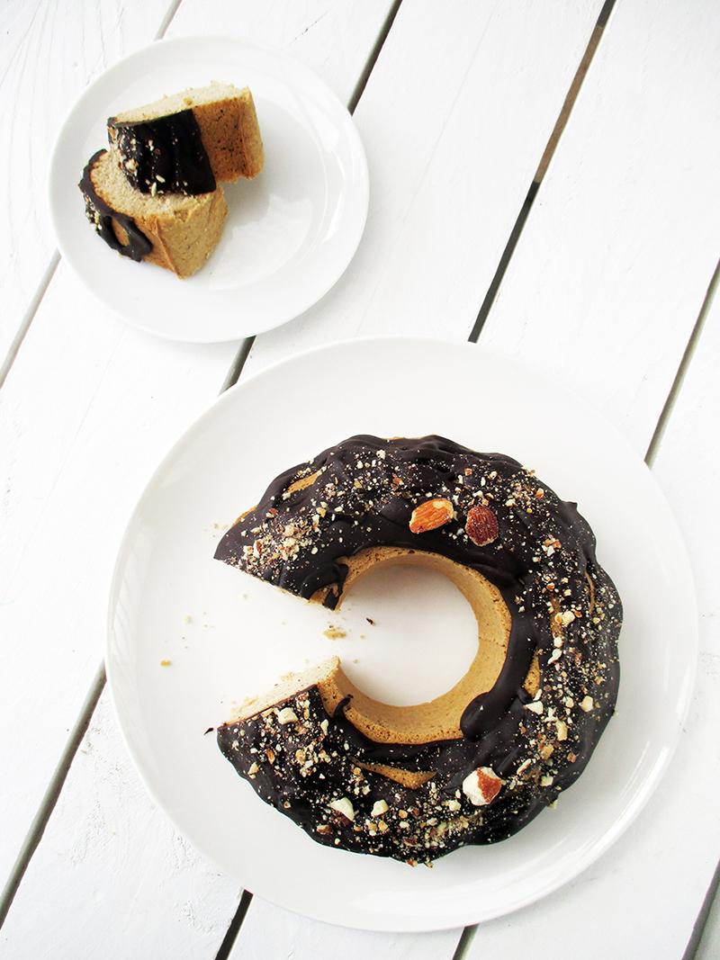 Vegan Gluten free Refined Sugar Free Polenta Bundt Cake Recipe 4