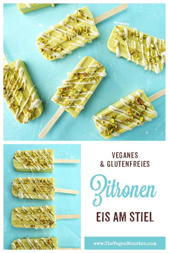 Vegane Glutenfreie Zitronen Eis Am Stiel Ohne Kristallzucker Rezept P2