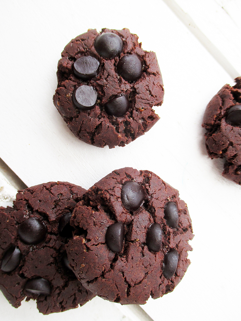 Vegan Gluten free Dairy free Triple Chocolate Cookies Recipe 3