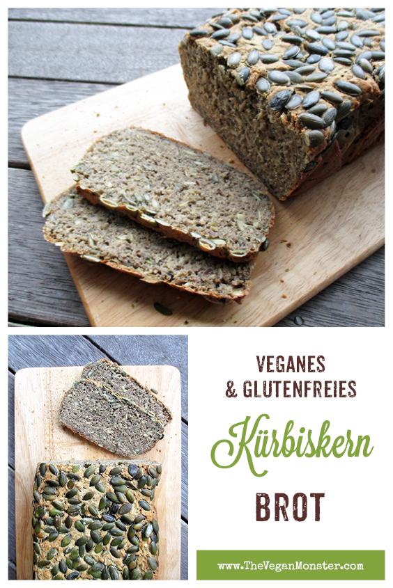 Veganes Glutenfreies Kuerbiskern Brot Rezept 2