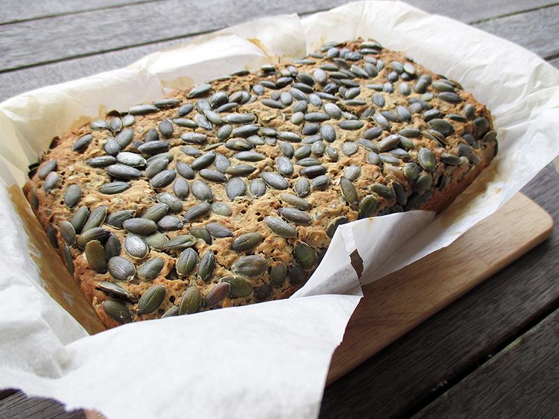 Veganes Glutenfreies Kuerbiskern Brot Rezept Ohne Milch 1
