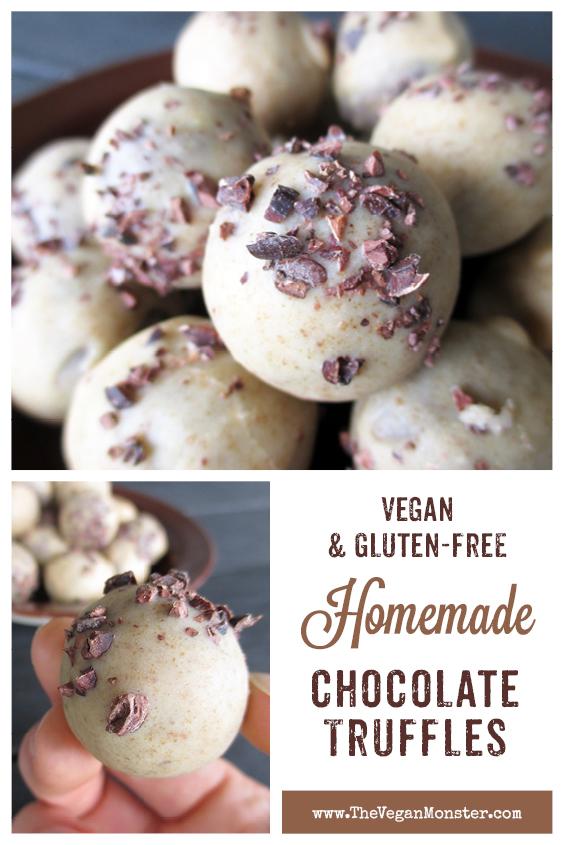 Vegan Glutenfree Dairy free Chocolate Truffles Recipe P2