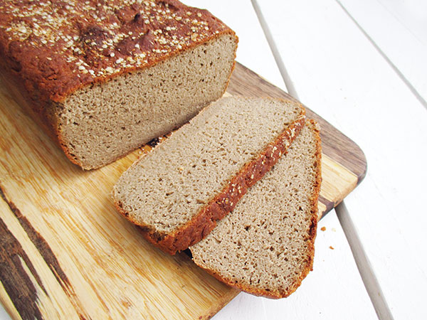 Easy Vegan Gluten-free Buckwheat Bread Recipe