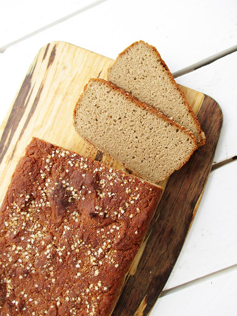 Easy Vegan Gluten free Buckwheat Bread Recipe 3