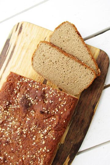 Einfaches Veganes Glutenfreies Buchweizen Brot Rezept 3 1