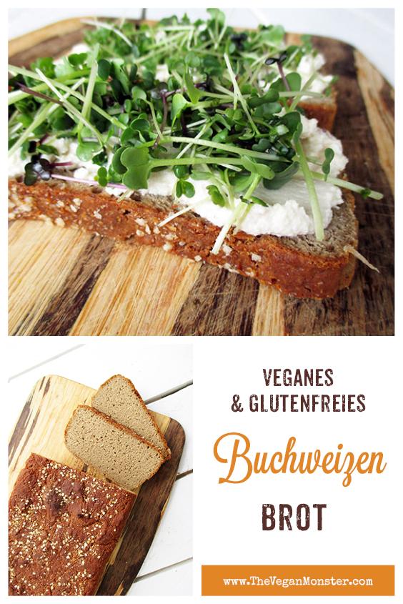 Einfaches Veganes Glutenfreies Buchweizen Brot Rezept 2