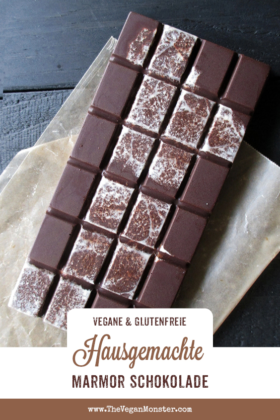 Hausgemachte Vegane Schokolade Ohne Kristallzucker Ohne Milch Rezept P1