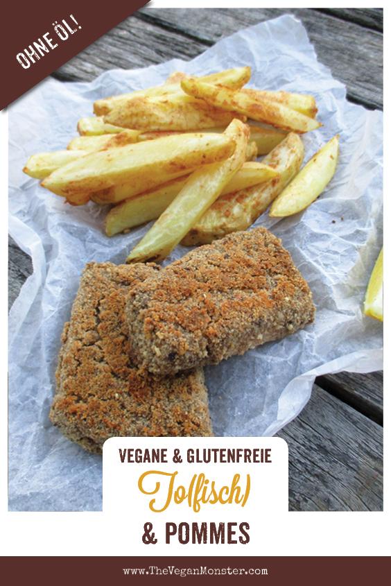 Vegane Glutenfreie Tofisch Und Pommes Ohne Oel Rezept 1