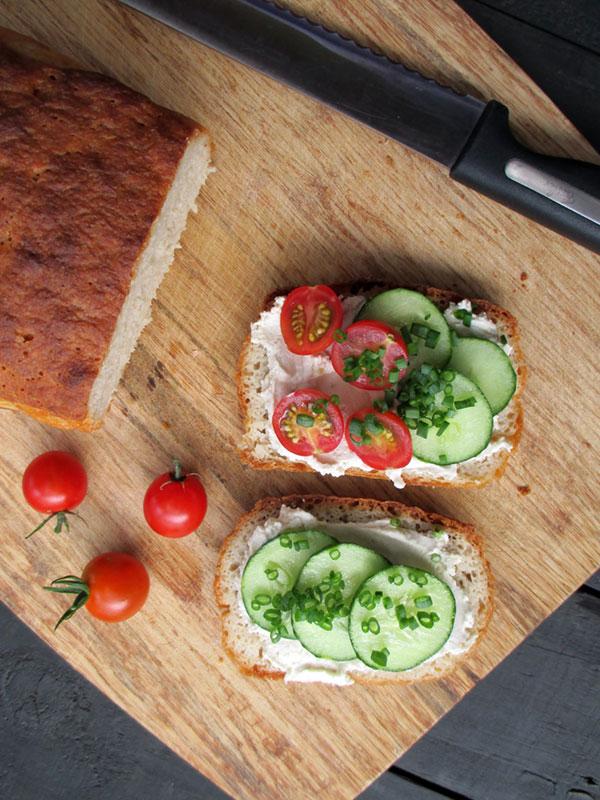 Saftiges Kartoffel Brot (Vegan, Glutenfrei)