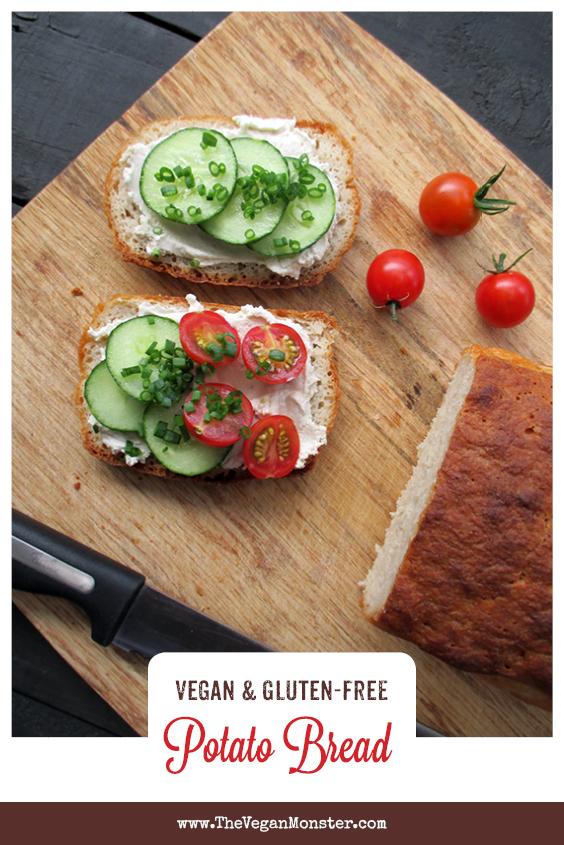 Vegan Gluten free Potato Bread Recipe P