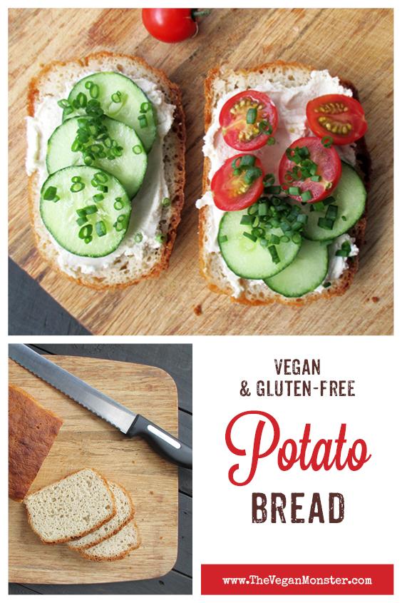 Vegan Gluten free Potato Bread Recipe P2