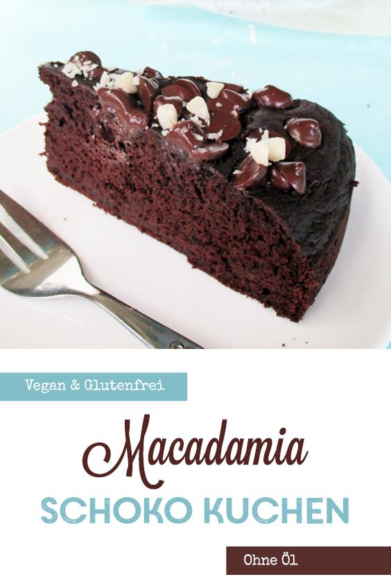 Veganer Glutenfreier Macadamia Schokoladen Kuchen Ohne Milch Ohne Ei Ohne Kristallzucker Rezept P3