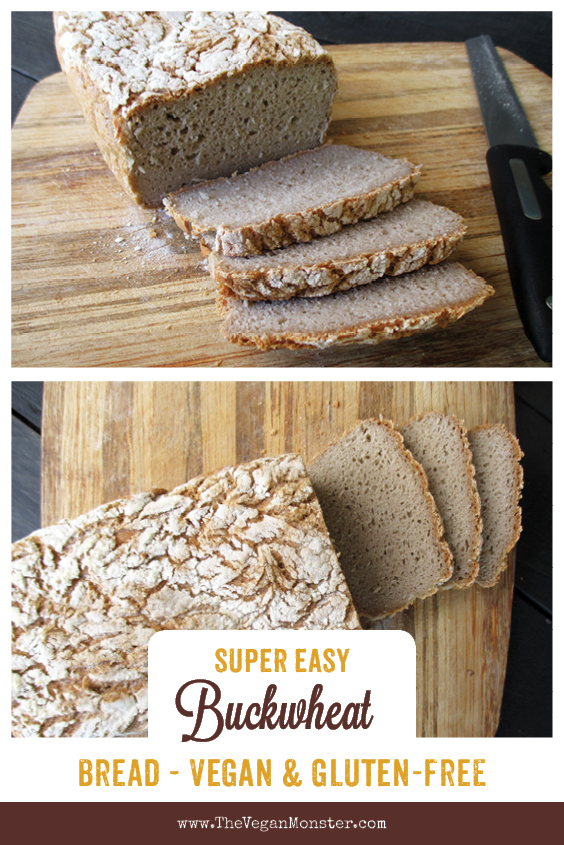 Vegan Glutenfree Buckwheat Bread recipe P