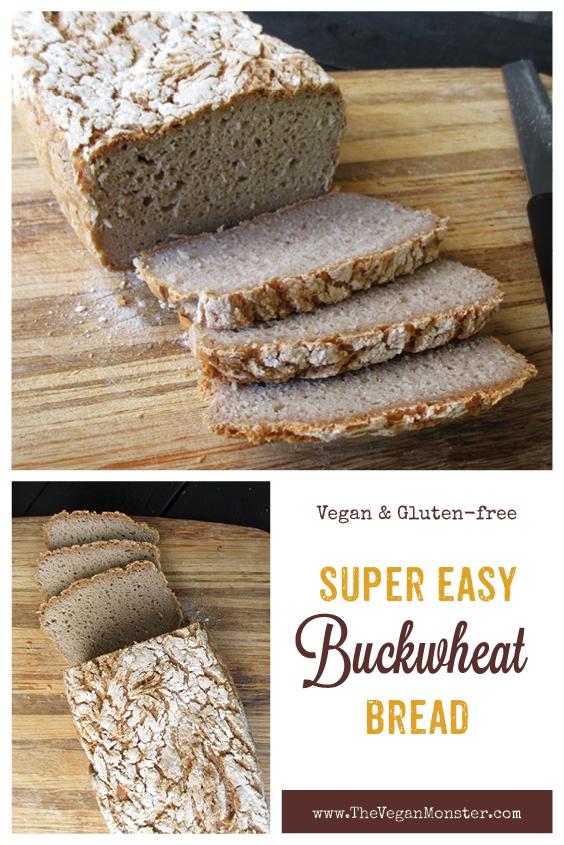 Vegan Glutenfree Buckwheat Bread recipe P2