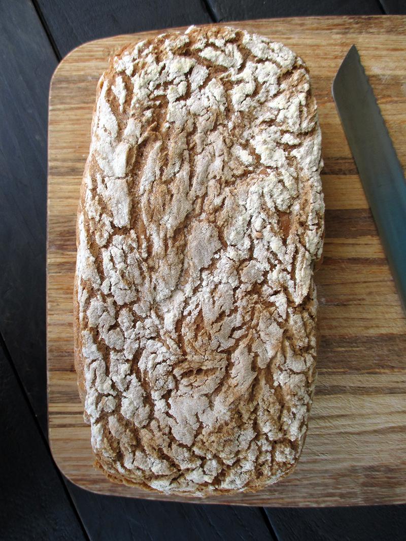 Veganes Glutenfreies Super Einfaches Buchweizen Brot Rezept 1 1
