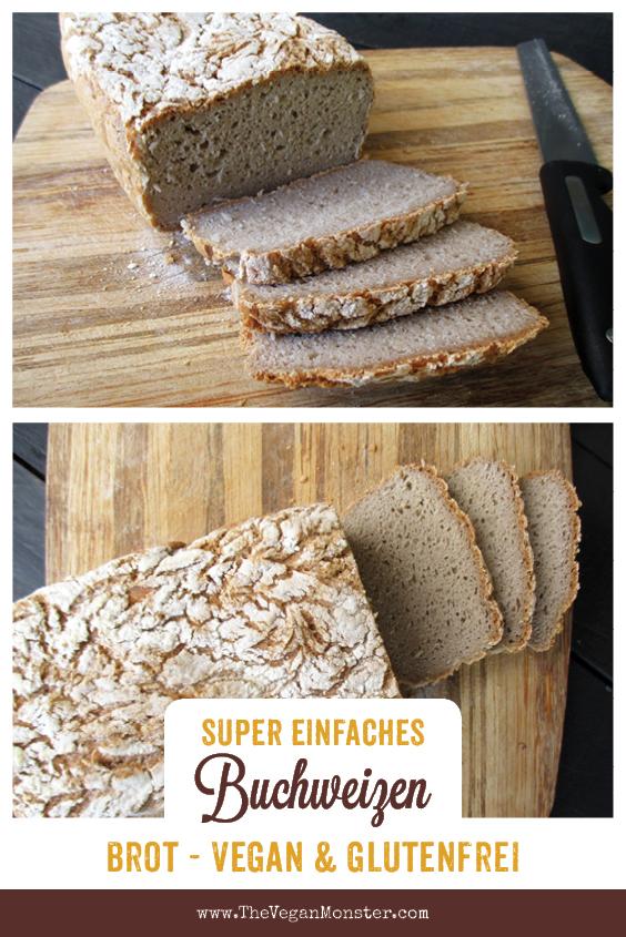 Veganes Glutenfreies Super Einfaches Buchweizen Brot Rezept 1