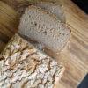 Veganes Glutenfreies Super Einfaches Buchweizen Brot Rezept 2 1 1